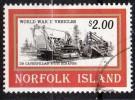 N°581-- Oblitéré    - Engin De Terrassement           --Norfolk Island - Trasporti