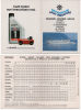 Alt005 Orario, Timetable Traghetto, Ferry, Bateau Navigazione Lago Maggiore 1995 Stresa, Baveno, Pallanza Isole Borromee - Europe