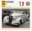Fiche Technique - Hotchkiss 486 - Cars