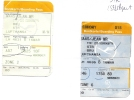 Boarding Pass - Lufthansa - LH4631/LH4636 - Brussels-Stuttgart-Brussels - 16MAR2005 - Instapkaart