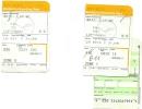 Boarding Pass - Lufthansa -LH627/LH4572 - Dubai-Frankfurt-Brussels - 31JAN2005 - Instapkaart
