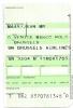 Boarding Pass/Receipt - SN Brussels Airlines -SN3204 - Venice-Brussels - 11NOV04 - Instapkaart