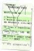 Boarding Pass - Iberia - IB7789 - Brussels-Madrid - 09DEC04 - Instapkaart