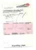 Boarding Pass - SN3204 - Venice-Brussels- 11NOV04 - Instapkaart