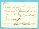 Brief Met Stempel FONTAINE-L'EVEQUE Op 8/mai/1848 Naar ST-GHISLAIN - 1830-1849 (Belgique Indépendante)
