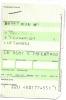 Boarding Pass/Receipt - LH4587 - Brussels-Frankfurt - 15FEB04 - Instapkaart