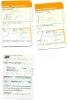 Boarding Pass - Lufthansa/LOT - LH4583/LO380/LO233 - Brussels-Frankfurt-Warsaw-Brussels - 15-17FEB04 - Instapkaart