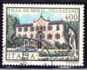 ITALIA - Usato - 1985 - Ville D'Italia - 6ª Emissione - 600 L. • Villa De Mersi, A Villazzano - 1981-90: Oblitérés