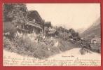 X0537 Gryon-sur-Bex, Vieux Chalets.Précurseur.Cachets Maracon Et Ollon 1906. CPN 1301 - VD Vaud