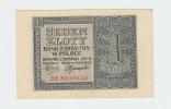 Poland 1 Zloty 1941 XF Banknote P 99 - Poland