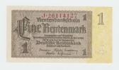 Germany 1 Rentenmark 1937 UNC NEUF P 173b  173 B - Unclassified