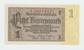 Germany 1 Rentenmark 1937 UNC NEUF P 173b  173 B - 1933-1945: Drittes Reich