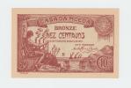 PORTUGAL 10 CENTAVOS 1917 UNC NEUF P 96 - Portugal