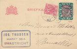 Pays Bas - Carte Postale De 1921 - Oblitération Maastricht - Postal Stationery