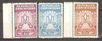 OM205 - REPUBBLICA DOMINICANA - Yvert &Tellier  N° 92/4 P.a. ** - Ano Mariano - Repubblica Domenicana