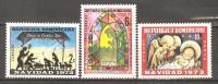 OM208 - REPUBBLICA DOMINICANA - Yvert &Tellier  N° 740/1 + 257 P.a. ** - Natale - Repubblica Domenicana