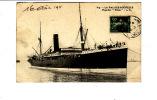 """Carte 1910 LA PALLICE ROCHELLE / PAQUEBOT """" Orissa """" - La Rochelle"""