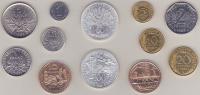 Série Fleurs De Coins 1985 - Z. FDC