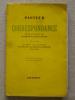 Pasteur Correspondance Lettres De Jeunesse 1840-1857. Grasset 1940. Voir Photos. - Biographien