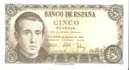 BILLETE DE ESPAÑA DE 5 PTAS DEL 16/08/1951 SERIE Z   BC+ (BANKNOTE) - [ 3] 1936-1975 : Régimen De Franco