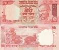 India - 20 Rupees 2007 UNC, Pick 96 - India