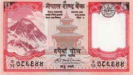 NEPAL 5 Rupees 2017 - Nepal