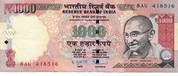 INDIEN INDIA 1000 1.000 RUPEE 2013 VF - India