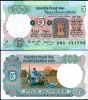 INDIA 5 RUPEES ND 1975 P 80 C UN W/H - India