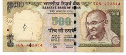 INDIA 500 RUPEES ND 1997 P 92 B UNC - India