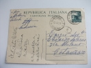 Cartolina Postale Italiana Timbro Guardavalle Catanzaro - 6. 1946-.. Repubblica