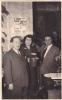 20594 Carte Photo -commerce Salon De Thé Café Epicerie Torefacteur Trablit-1955-60? Couple Belge Belgique - Magasins