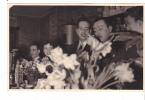20597 Carte Photo -commerce Salon De Thé Café Epicerie Torefacteur -1955-60? Couple Belge Belgique - Magasins
