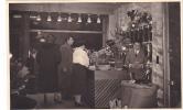 20598 Carte Photo -commerce Salon De Thé Café Epicerie Torefacteur -1955-60? Couple Belge Belgique - Magasins