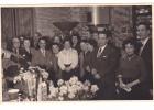 20600 Carte Photo -commerce Salon De Thé Café Epicerie Torefacteur -1955-60? Couple Belge Belgique
