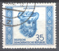 ALLEMAGNE ORIENTALE D D R 1952 1 Timbre Oblitéré. AVICENNE. - [6] République Démocratique
