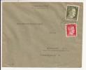 V878 - Recommandé LUTTERBACH - 1943 - Lutterbach  - Tarif 42 Pfennig - - Marcophilie (Lettres)