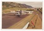 PORTUGAL SANTA CRUZ DAS FLORES - Vista Parcial Da Aerogare E Monte Carte Postale - Aérodromes