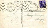 Affranchissement  Carte Postale De Sissonne à Changé Les Laval Le 20/7/1939 - France