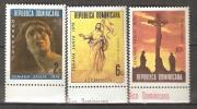 OM217 - REPUBBLICA DOMINICANA - Yvert &Tellier  N° 786/7 + 283 P.a. ** - Semaine Sainte - Repubblica Domenicana