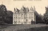 27 BOURGTHEROULDE - Le Château - Vue Prise Du Parc - Bourgtheroulde