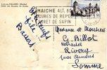 Pont De Valentré (Cahors) Affranchissement   CPA  De Maiche (Doubs)  à Rivery (Somme) - Ponts