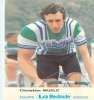 Christian MUSELET, Dédicassée, Autographe. 2 Scans. La Redoute Motobecane - Cyclisme