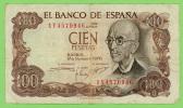 Espagne - 100 Pesetas - 17 Novembre 1970 - TB+ - [ 3] 1936-1975 : Regency Of Franco