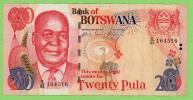 Botswana - 20  Pula - N° E/83 164516  - 2006 - Ttb+ - Botswana