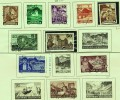 1937  Paysages Et Monuments  10 Valeurs  25 Et 50 Rp Sont Sans Charnière