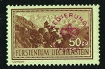 1935  Paysage  50  Rp  MiNr D17  Neuf Faible Marque De Charnière - Official