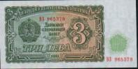8 BILLETS 3 LEVA UNC ( Possede Serie B3 965379 à 965386) - Bulgaria
