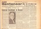 Oude Krant : De Nieuwe Gentenaar 8 September 1945 Eisenhower Te Brussel + Oorlogswreedheden Der Jappen - History