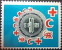 FRANCE VIGNETTE LIGUE CROIX ROUGE RED CROSS LEAGUE ROTES KREUZ 50 ANS 1919 - 1959 RARE ! - Commemorative Labels