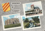 Souvenir De CLERQUES - Multi-vues - N° 3 C - France